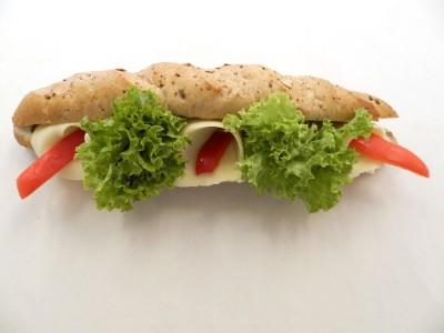 Vegetariánská bageta 200g