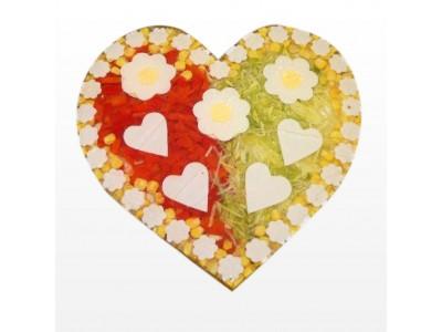 Aspikový dort - srdce (cena za Kg)