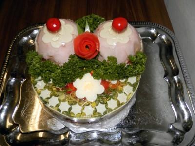Aspikový dort dámské poprsí (cena za Kg)